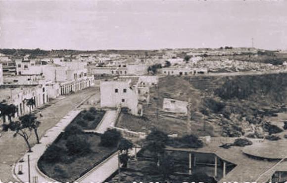 Balcón a principios de siglo