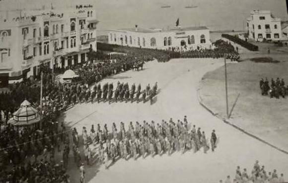 PLAZA ESPAÑA desfile militar