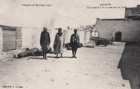 1911 - BATERIA DE CAÑONES