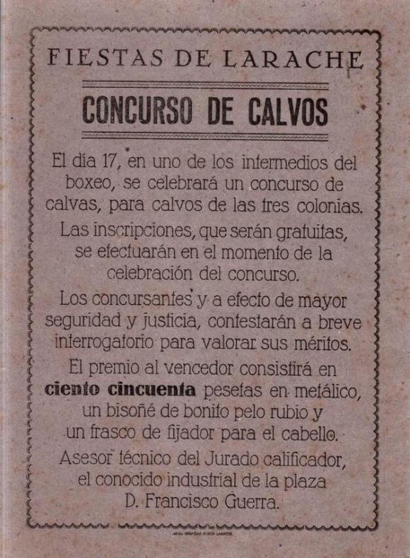 CONCURSO DE CALVOS