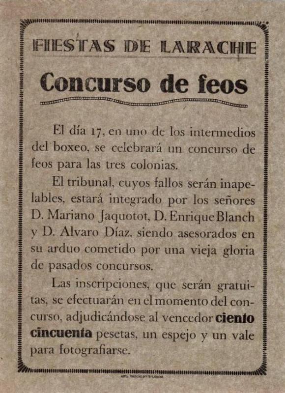 CONCURSO DE FEOS