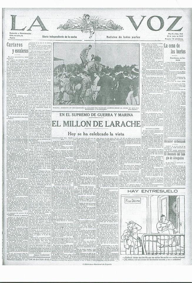 LA VOZ - EL MILLON DE LARACHE