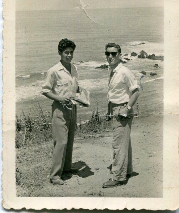 Larache - Junio 1951 - Carlos Navas y AB