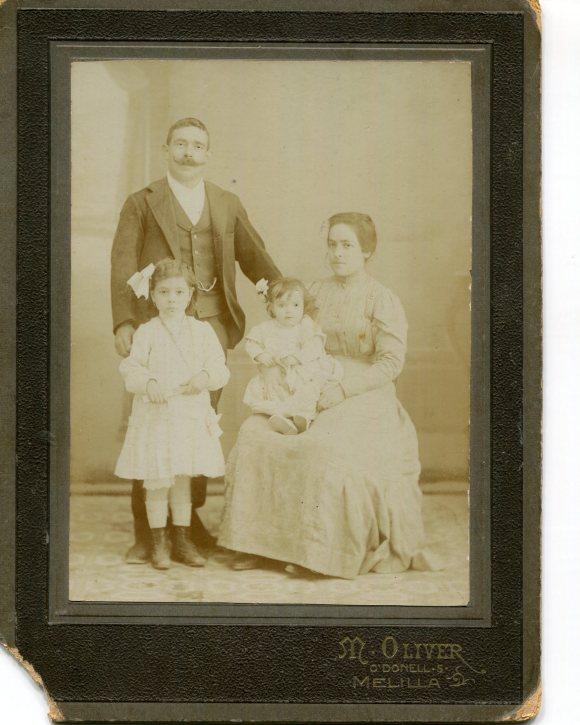 Mis tatarabuelos maternos, los Martínez
