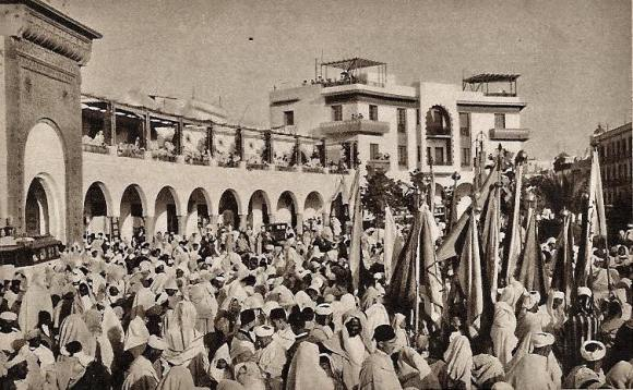 plaza españa fiesta
