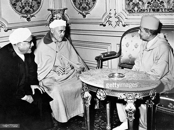 1960 Abdelkrim y Mohamed V
