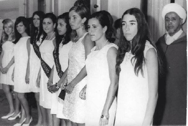 Elección de Miss Marruecos en los años 60
