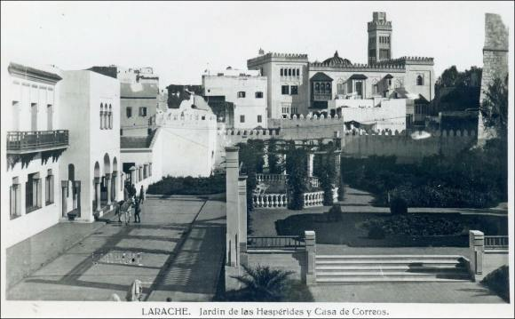 Jardín de las Hespérides y Correos