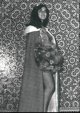 Miss Maroc 1967 Naima Benjelloun