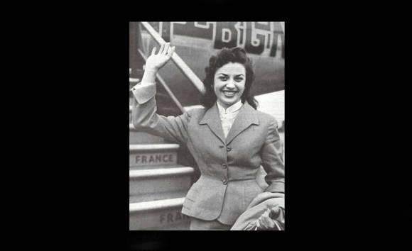 Miss Marruecos 1956 Lydia Marin