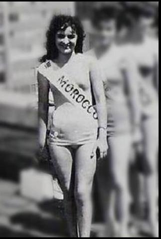 Miss Marruecos 1961 Irene Gorsse