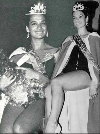 Miss Marruecos Lucette Garcia 1965