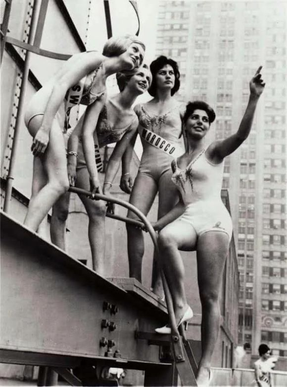 MISS MARRUECOS Marilyn Escobar 1960 EN NY