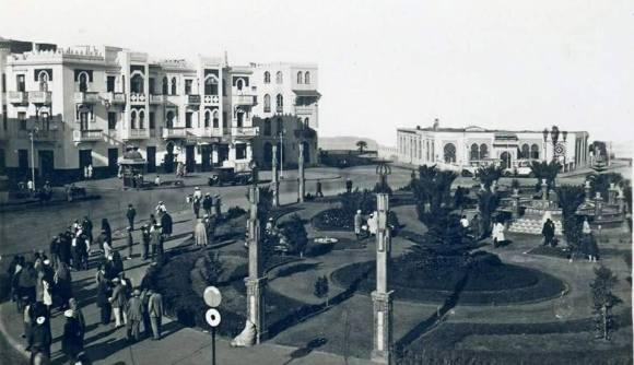 Plaza de España .