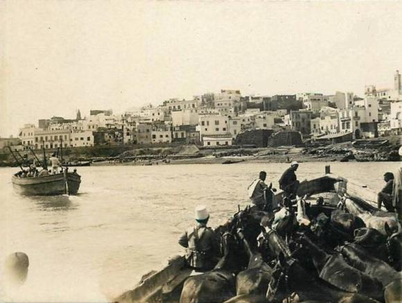 1860 desembarco en Larache