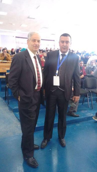 El Hachmi Jbari y Mohamed Azli