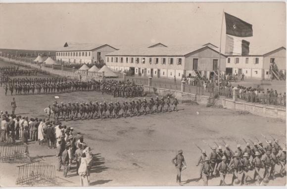 Larache ejército español hacia el año 1915