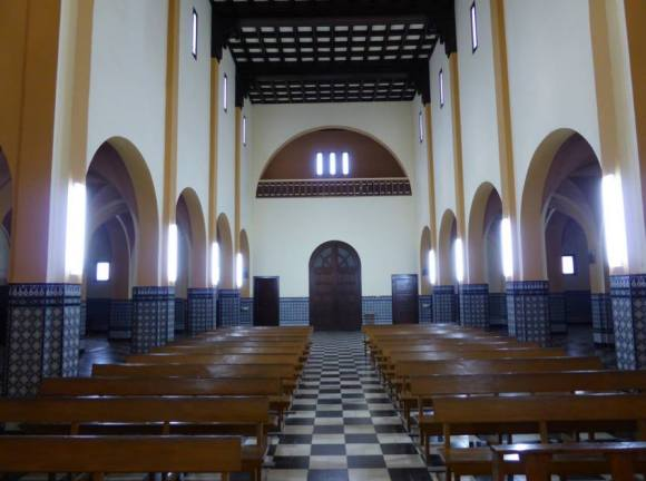 Iglesia del Pilar interior
