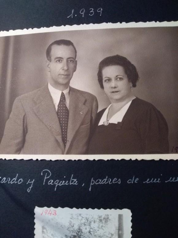Los abuelos en Larache, 1939