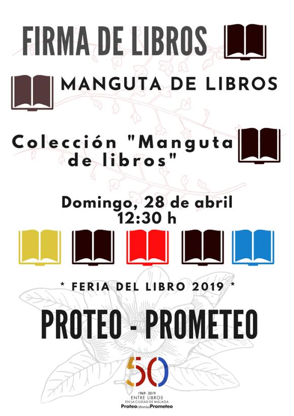 Manguta de Libros en la Feria del Libro de Málaga