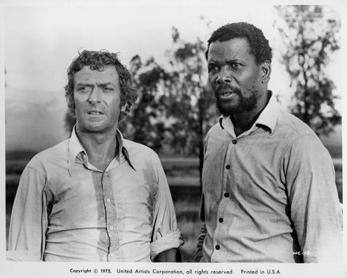 Caine y Poitier