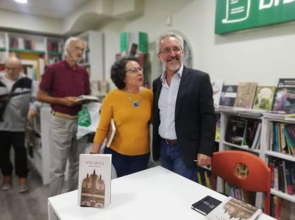 Con Maribel Gil