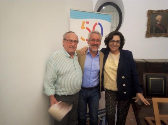Con Paco y Trini