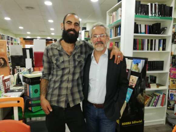 Con Sergio jr 1