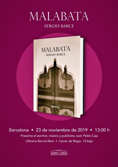 MALABATA cartel presentación Barcelona
