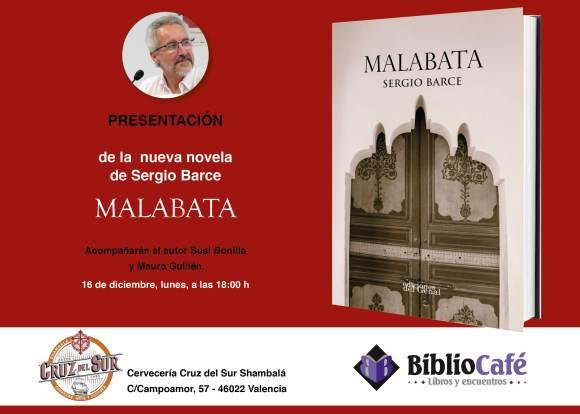Invitacioìn presentacioìn MALABATA Valencia