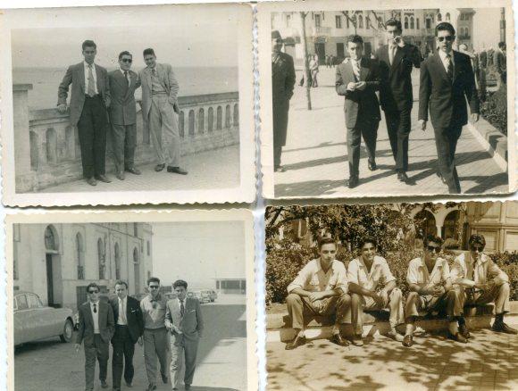 1953 a 1956 Larache mi padre con sus amigos