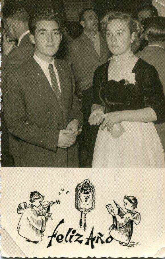 1953 Mis padres en 1953