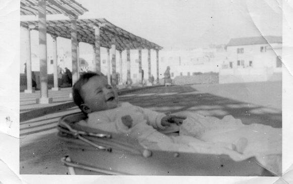 1961 Sergio Barce en el Balcón Atlántico en 1961