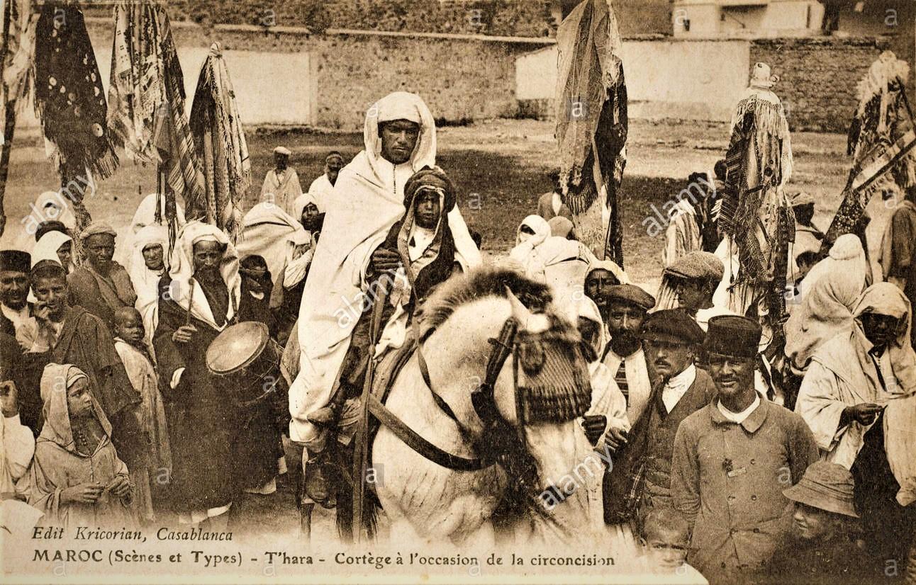 Casablanca - Marruecos - escena de fiesta de circuncisión