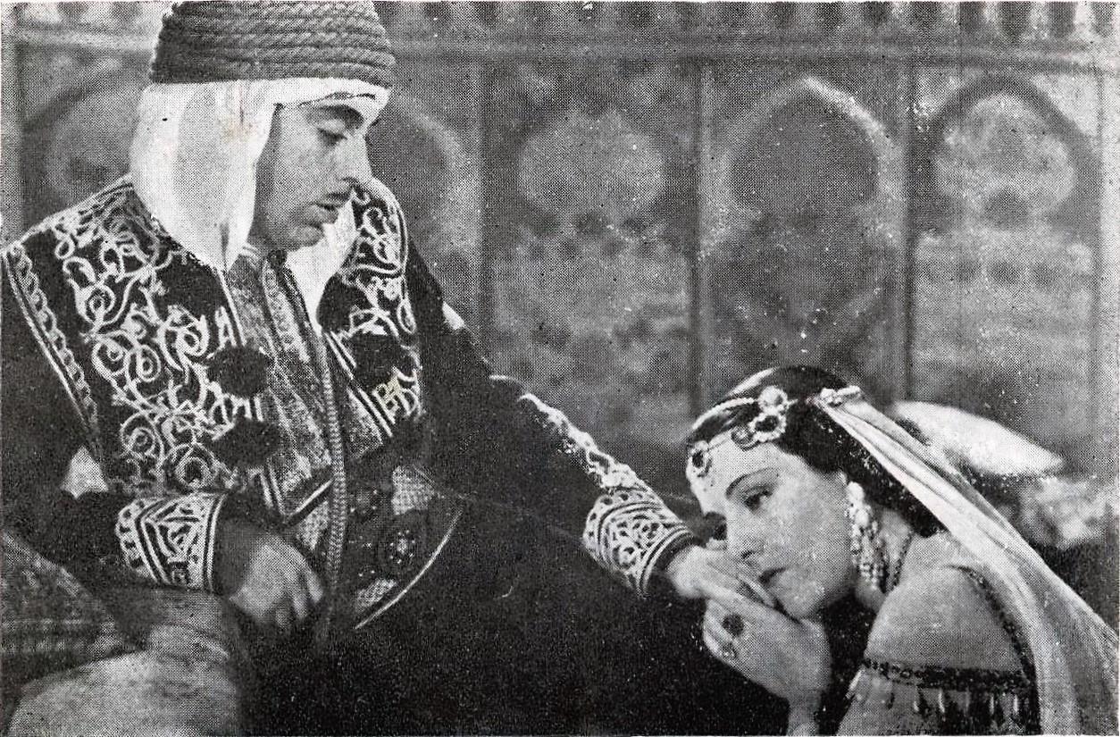 La canción de Aixa (1939) Abslam Aixa escena