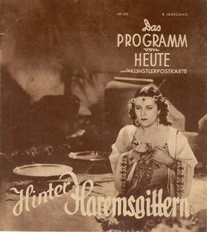 La canción de Aixa cartel alemán