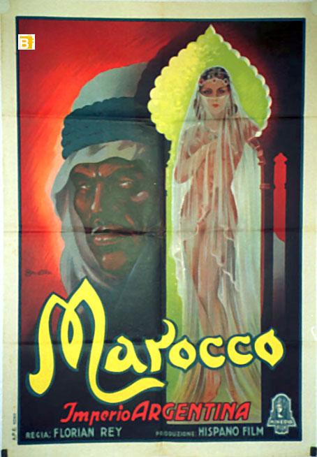La canción de Aixa - Marocco - cartel