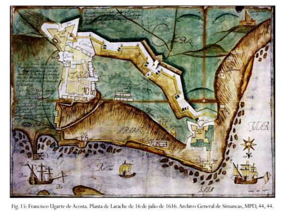 LARACHE plano de 1616