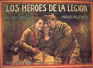 LOS HÉROES DE LA LEGIÓN cartel