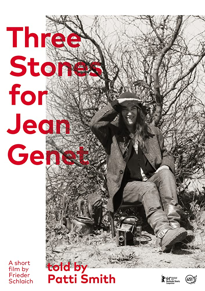 THREE STONES FOR JEAN GENET cartel
