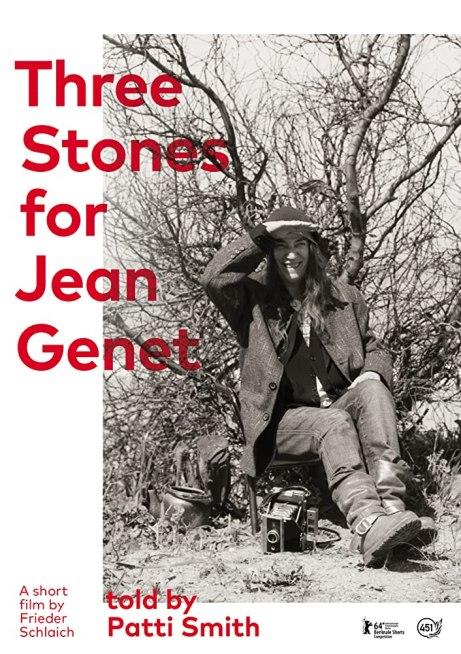 THREE STONES FOR JEAN GENET cartel