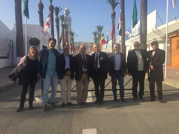 Paula Carbonell, Mohamed el Morabet, Aziz Amahjour, Mohamed Abrighach, José Sarria, Sergio Barce, Boujemaa El Abkari y Ahmed el Gamoun