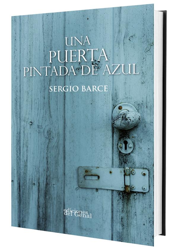 UNA PUERTA PINTADA DE AZUL portada