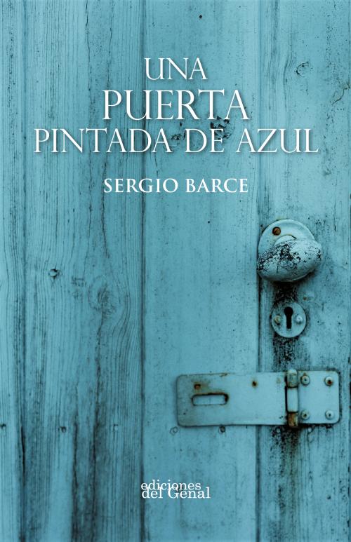 UNA PUERTA PINTADA DE AZUL portada frontal