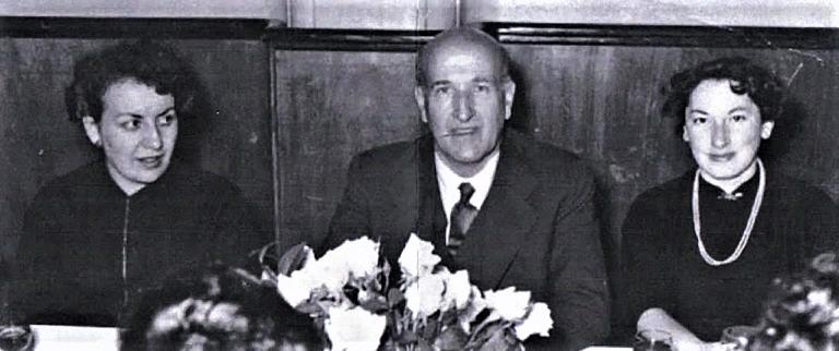 La imagen tiene un atributo ALT vacío; su nombre de archivo es 1952-dora-bacaicoa-vicente-alexandre-y-trina-mercader.jpg